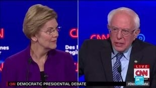 2020-01-15 10:01 US Democrats spar on foreign policy, trade and electability in seventh debate