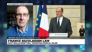 2020-12-09 14:32 French government unveils new law tackling Islamist extremism