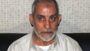 Le Guide suprême des Frères musulmans, Mohamed Badie.