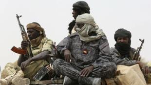 Des soldats tchadiens, à Mao, le 23février2015(photo d'illustration).