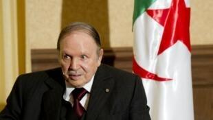 الرئيس الجزائري عبد العزيز بوتفليقة