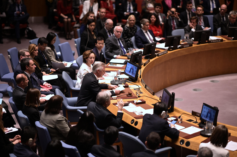 ONU conseil sécurité belgique philippe