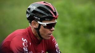 Chris Froome, cuatro veces ganador del Tour de Francia, fotografiado durante la carrera ciclista Criterium du Dauphine el 9 de junio de 2019.
