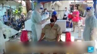 2021-06-12 21:06 Covid-19 en Thaïlande : nouvelle vague de contaminations avec plus de 180 000 cas