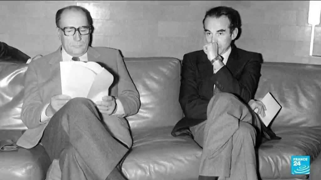 François Mitterand et Robert Badinter