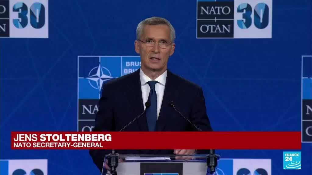 2021-06-14 19:03 NATO warns Russia no return to 'business as usual'