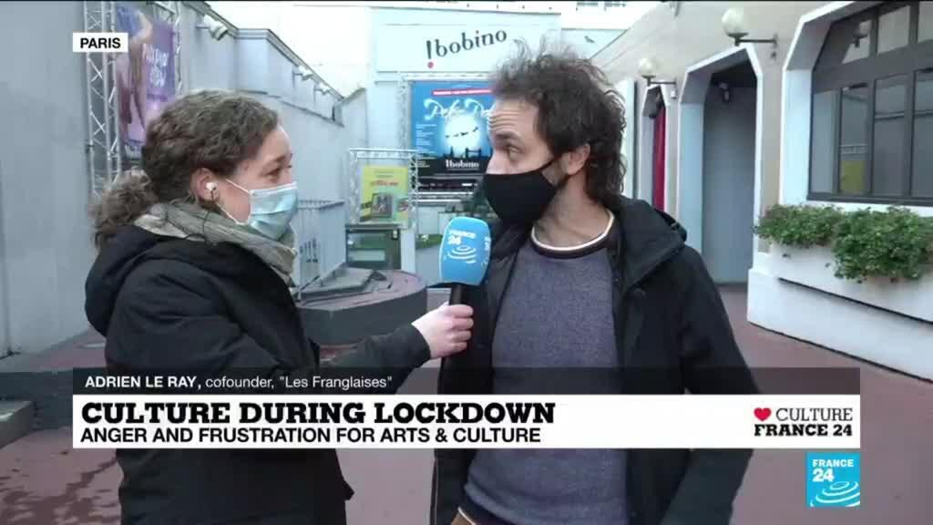 2020-12-17 16:04 Culture during lockdown: Anger and frustration from the Bobino Theater in Paris