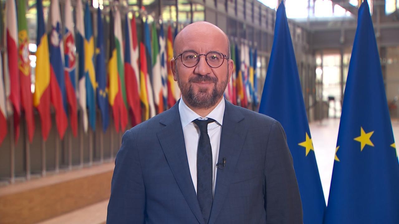 Charles Michel, président du Conseil européen