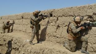 قوات أفغانية خلال عملية عسكرية في قندوز. 1 سبتمبر/أيلول 2019.