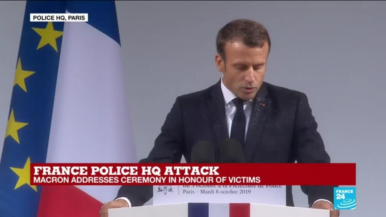Emmanuel Macron Vows To Defeat The Islamist Hydra This Is Not A Fight Against One Religion France 24