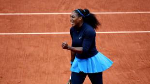 Serena Williams, qualifiée pour une nouvelle finale de grand chelem.