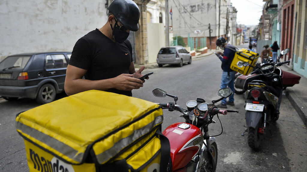 Mobile internet brings food and fuel to communist-run Cuba