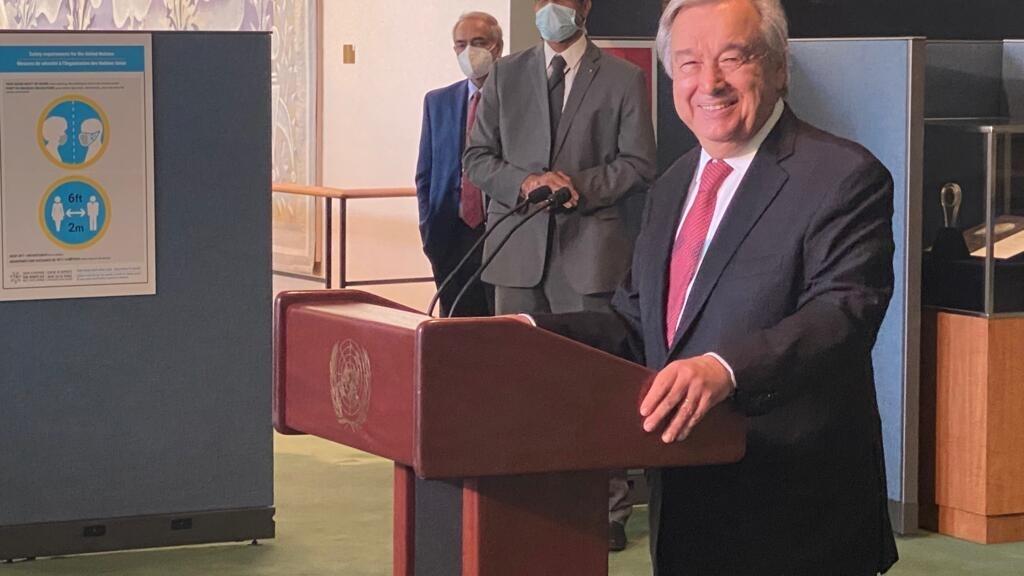 Antonio Guterres, secrétaire général de l'ONU, a été nommé pour un second mandat