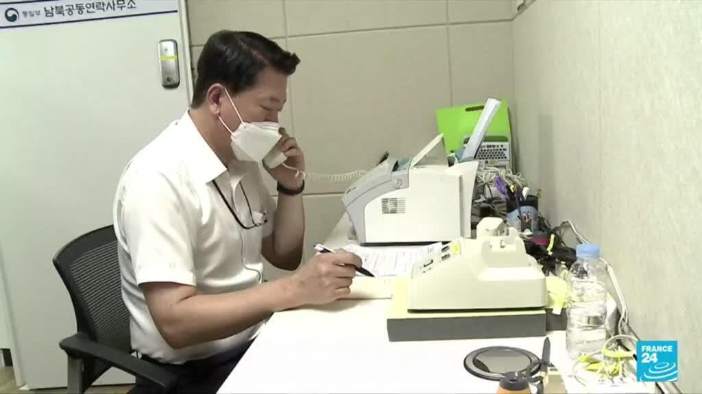 2021-07-27 10:05 North-South Korea relations: Pyongyang and Seoul restore cross-border hotline