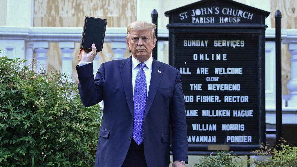 Mort de George Floyd : la charge inédite des généraux américains contre Donald Trump