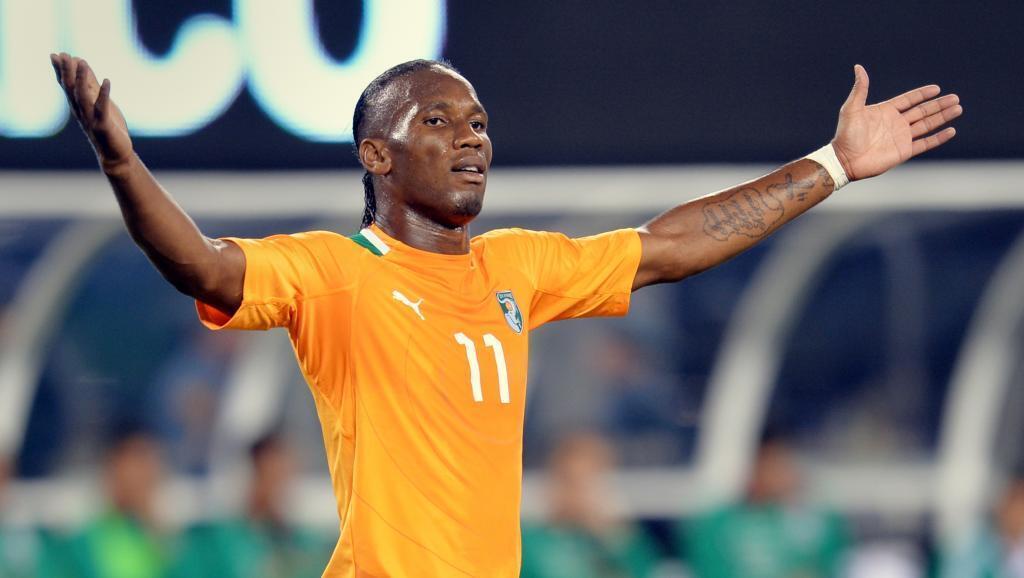 L'Ivoirien Didier Drogba