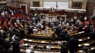 Les députés doivent examiner à partir du lundi 20 juillet le projet de loi portant sur le droit des étrangers (archives).