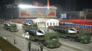 North Korea is under tough international sanctions aimed at choking off revenue to its nuclear and missile programmes.