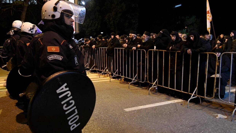 Bildergebnis für Montenegro celebrates Orthodox Christmas in tense climate