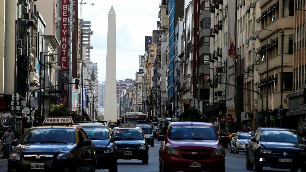 Imagen del Obelisco de Buenos Aires, Argentina, el 26 de marzo de 2019.