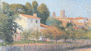 Le tableau Vue d'Elne d'Étienne Terrus