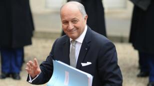 Laurent Fabius a confirmé, mercredi 10 février, qu'il quittait son poste de ministre des Affaires étrangères.