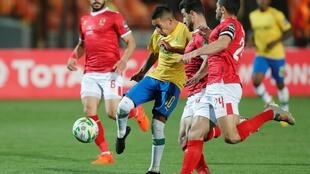 Al Ahly-Mamelody firts leg in cairo