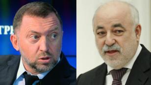 Les oligarques russes Oleg Deripaska et Viktor Vekselberg.
