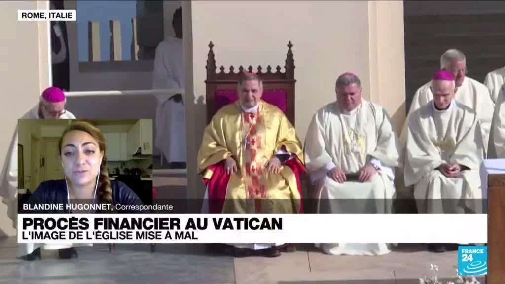 2021-07-27 08:11 Procès financier au Vatican : l'image de l'Église mise à mal