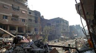 Au moins 26 personnes sont mortes dans les violences dans le camp de Yarmouk depuis mercredi 1er avril.