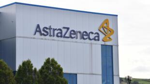 Le site du laboratoire AstraZeneca de Macclesfield, dans le centre de l'Angleterre, le 21 juillet 2020