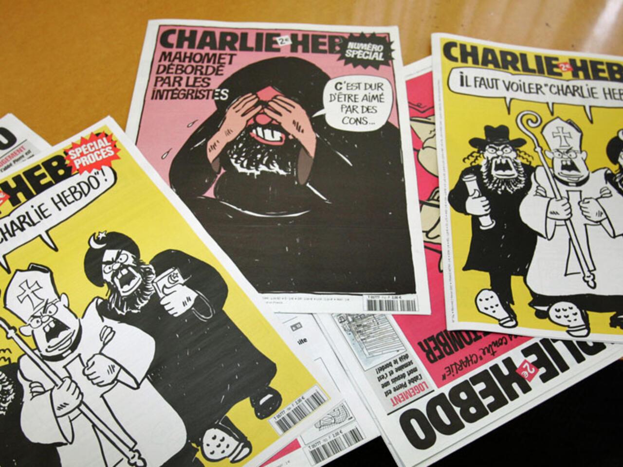 Tire A 3 Millions D Exemplaires Charlie Hebdo Rira De Tout Meme De Mahomet