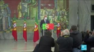 2021-01-25 06:14 Portugal : le président Marcelo Rebelo de Sousa a été réélu pour un second mandat