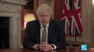Boris Johnson screengrab