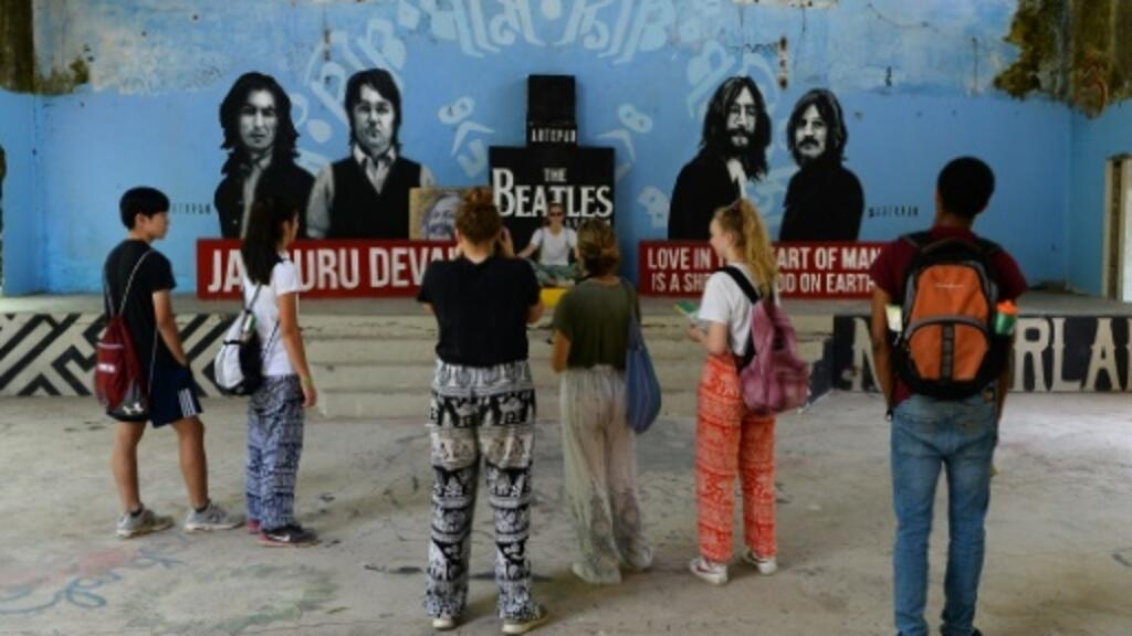 Beatles' Indian hideaway comes together, 50 years on
