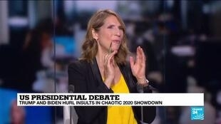 2020-09-30 11:03 Analysis: the most violent, rude, and disorganised presidential debate in history?