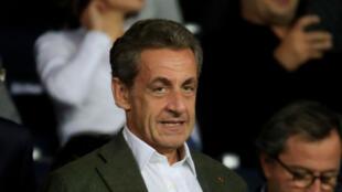 L'ancien président français Nicolas Sarkozy à Paris, le 14 septembre 2018.