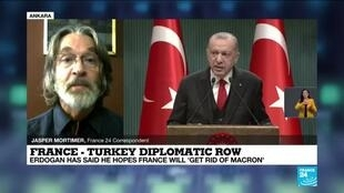 2020-12-09 15:05 France-Turkey diplomatic row: Macron, Erdogan clash over secularism law