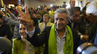 مرشح الحزب الاشتراكي الحاكم لينين مورينو