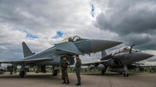The Eurofighter and Rafale are to be replaced by 2040