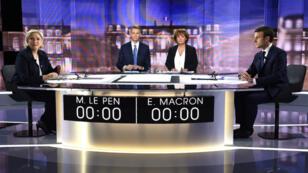 La classe politique française a vivement réagi au débat entre les deux finalistes de la présidentielle.