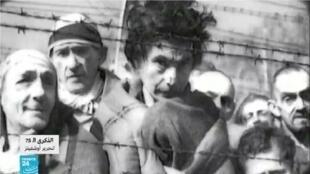 """معسكر """"أوشفيتز"""" النازي جنوب بولندا."""