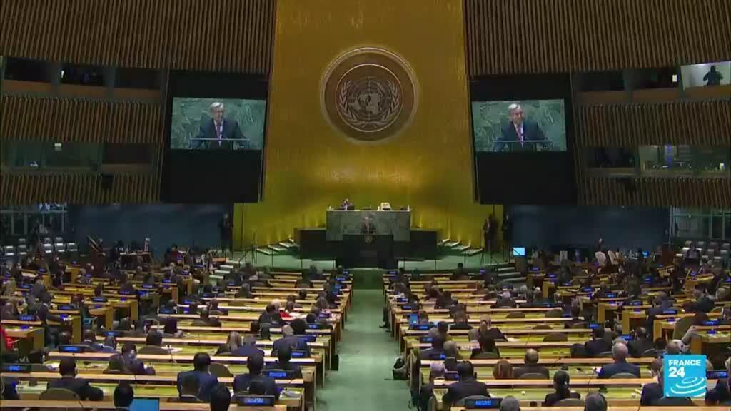 2021-09-22 01:01 El Covid-19 y el cambio climático son protagonistas en la Asamblea General de la ONU