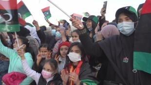 La Libye célèbre le 10e anniversaire de sa révolte à Tripoli.