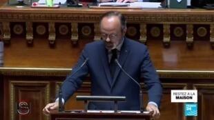 2020-05-04 17:02 Covid-19 en France : Edouard Philippe a présenté son plan de déconfinement au Sénat
