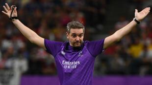 Jérôme Garcès arbitrera la finale de la Coupe du monde de rugby 2019.