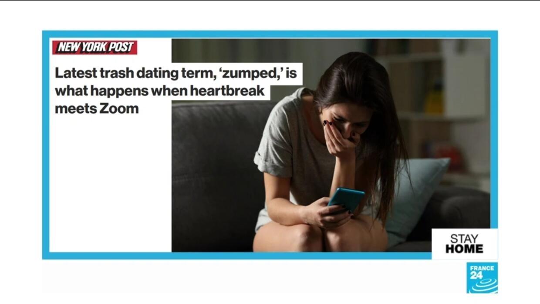 When heartbreak meets Zoom: Confinement leads to new phenomenon of ...
