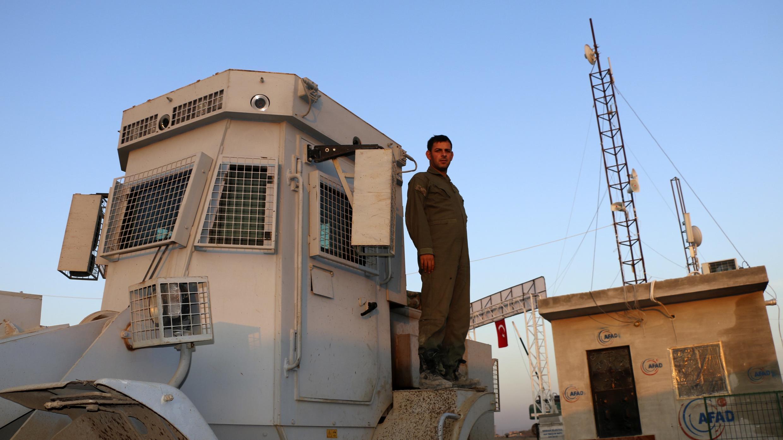 Un soldat turc dans la région d'Afrin, le 19 novembre 2018.