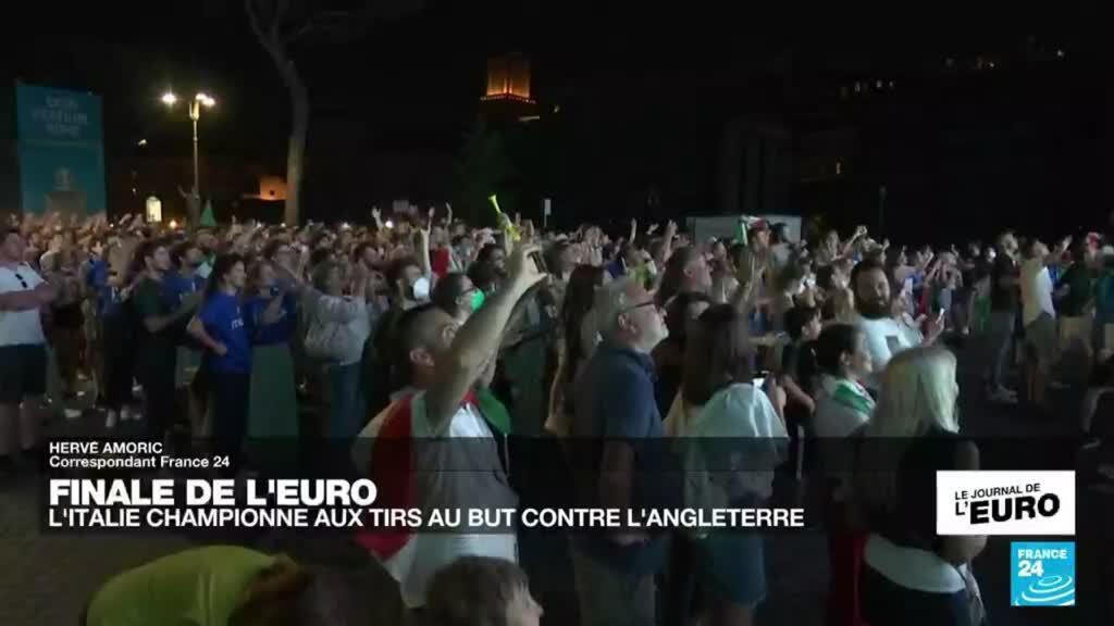 2021-07-12 00:13 Finale de l'Euro-2021 : l'Italie championne d'Europe, les Anglais déçus