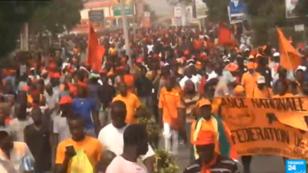 L'opposition a manifesté à plusieurs reprises en septembre2017 pour demander la démission du président Faure Gnassingbé.